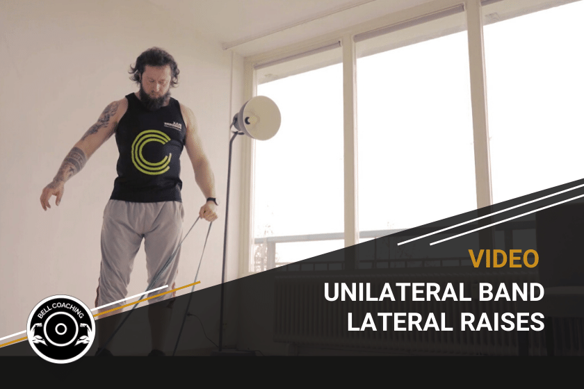 Unilateral Band Lateral Raises
