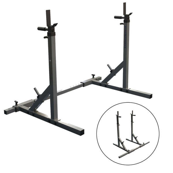 fitnesskamer verstelbare haltersteunen