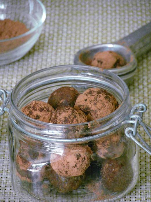 maya choco truffels