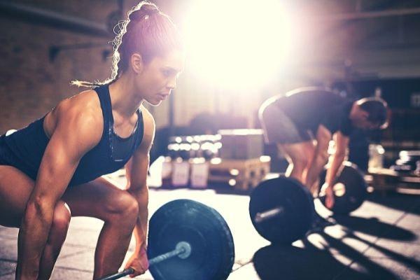 gezond aankomen spiermassa