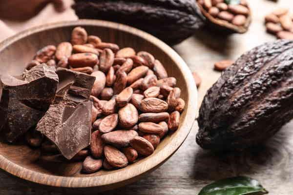 cafeine in chocolade