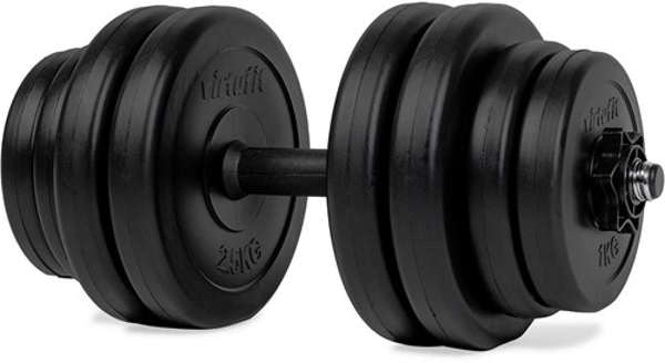 dumbbell thuisgym 15 kg