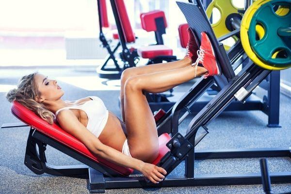 spieren lichaam vrouw