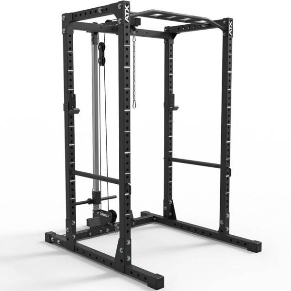 home gym materiaal power rack lat pulley