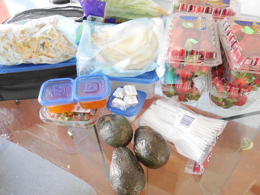 draagbare maaltijden