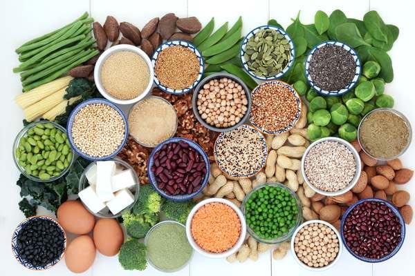 vegetarisch eiwitrijk recept