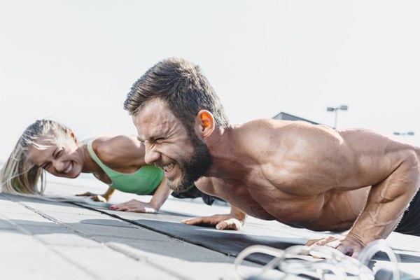 trainen met lichaamsgewicht