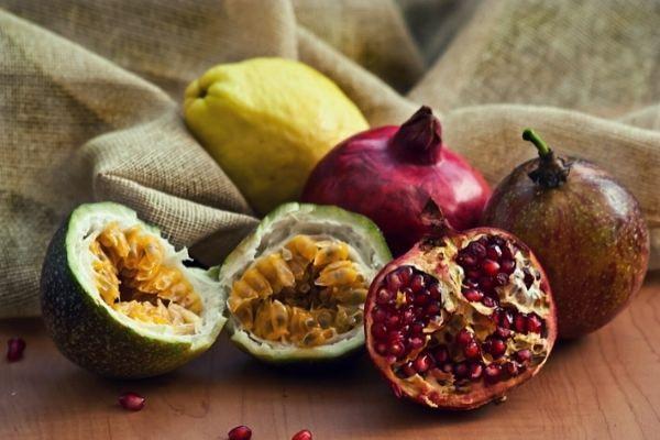 fruit met veel vezels