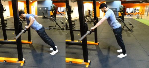 bar push ups