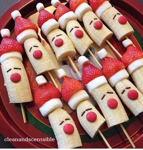 banaan-kerstmannetjes