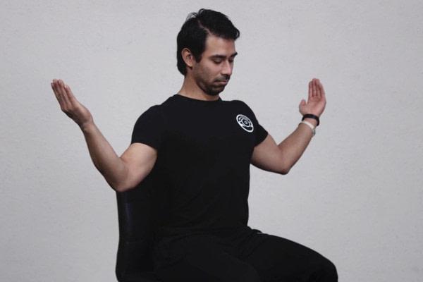 front squat uitvoering