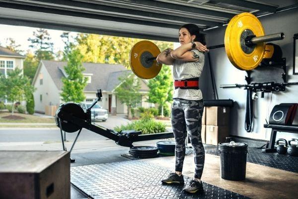 thuis eigen sportschool maken